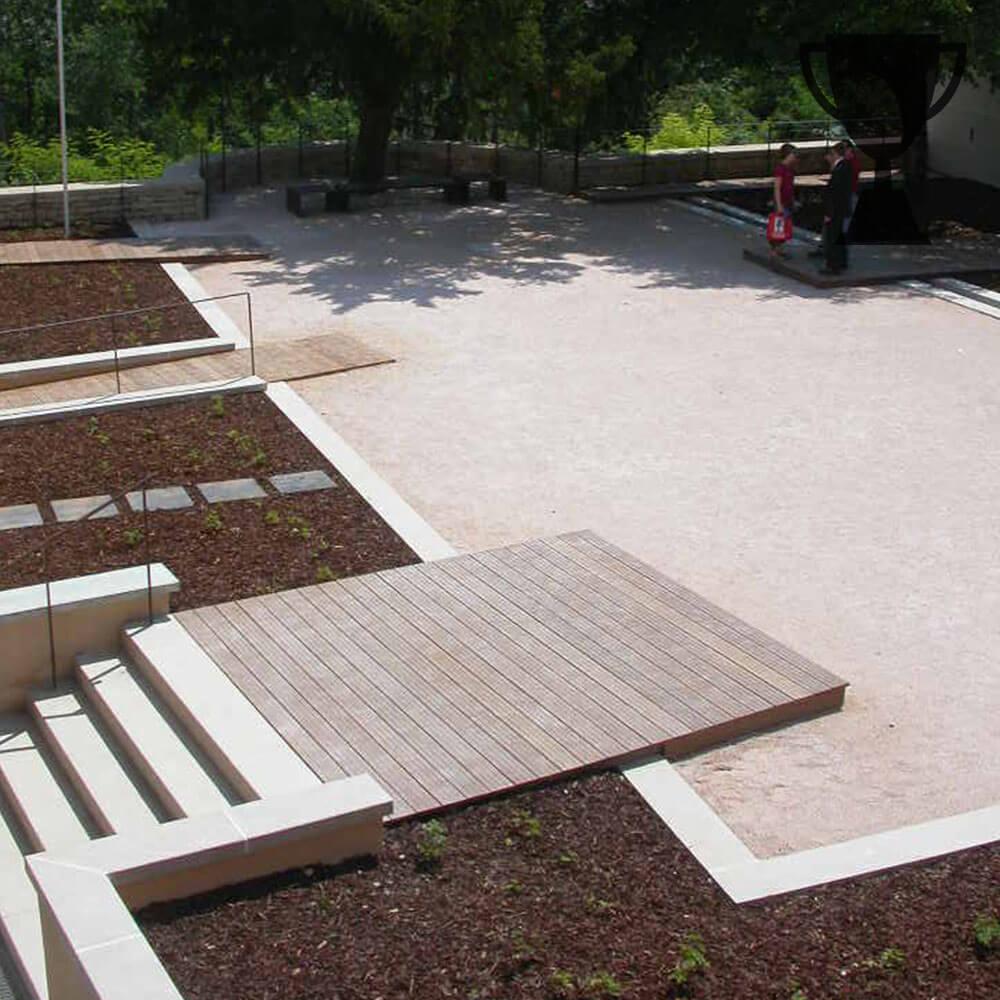Mayot et Toussaint, paysagiste concepteur reçoit le label jardin