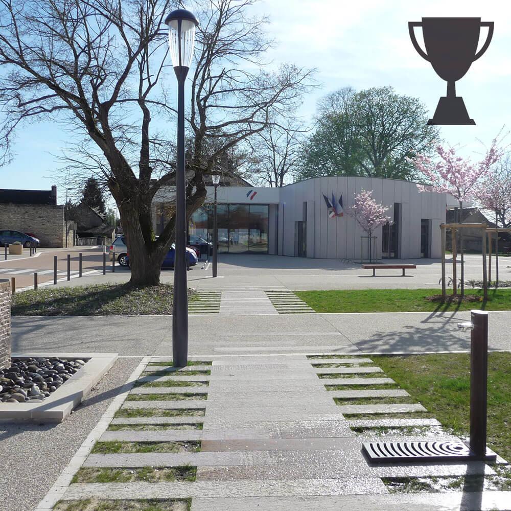 Mayot & Toussaint, Paysagiste Concepteur reçoit une distinction pour la place Virey